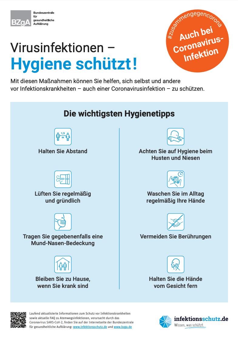 Coronavirus allgemein   infektionsschutz.de